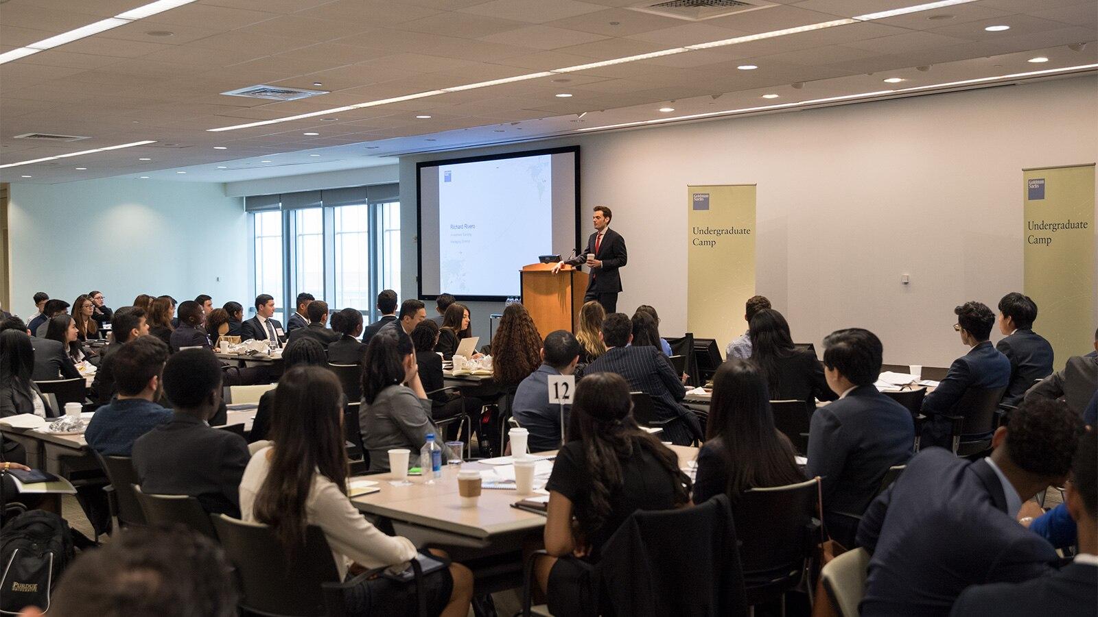 Goldman Sachs | Student Programs - Goldman Sachs Undergraduate Camp