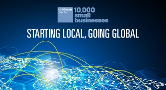 "10,000 Small Businesses and Department for International Trade Collaboration and New Survey – ""Starting Local, Going Global"""