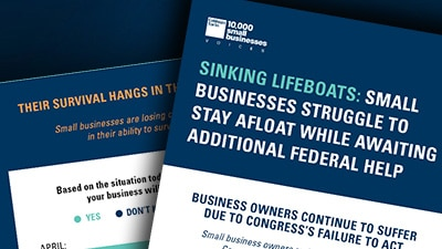 Survey: Sinking Lifeboats – Small Businesses Struggle to Stay Afloat While Awaiting Federal Help
