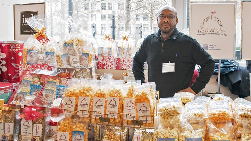 The Annual <i>10,000 Small Businesses</i> Holiday Markets