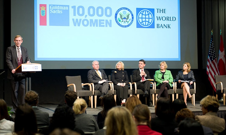 10,000 Women Partnership with Denmark