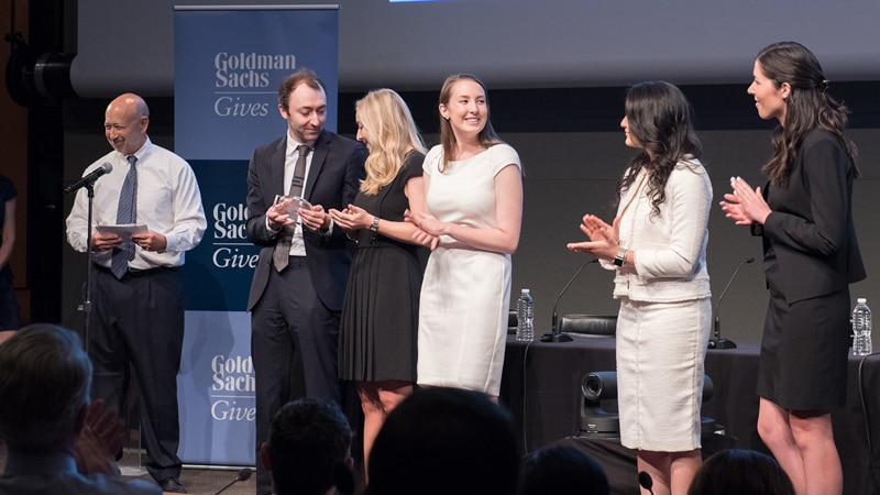 The 2017 Goldman Sachs Gives Analyst Impact Fund