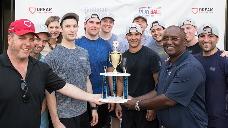 The Second Annual Goldman Sachs-DREAM Wiffle® Ball Tournament