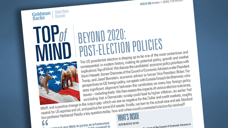 Beyond 2020: Post-Election Policies