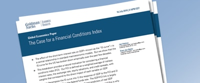 The Case for a Financial Conditions Index