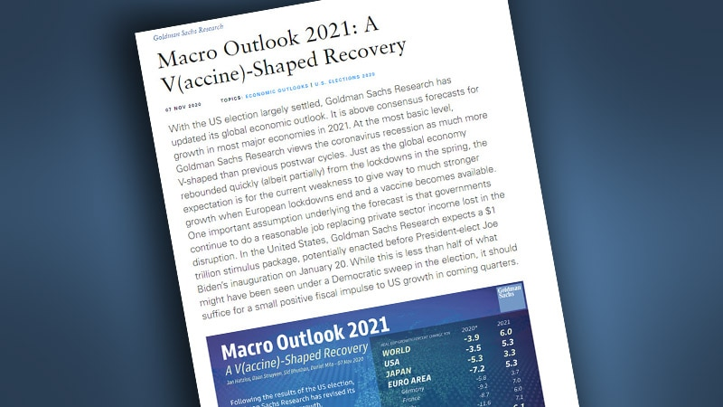 Macro Outlook 2021: A V(accine)-Shaped Recovery