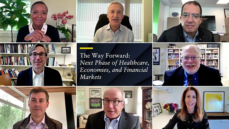 The Way Forward: <i>Next Phase of Healthcare, Economies, and Financial Markets</i>