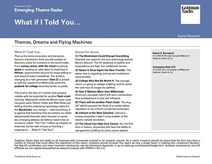 HY One Pagers Goldman Sachs [PDF Document]