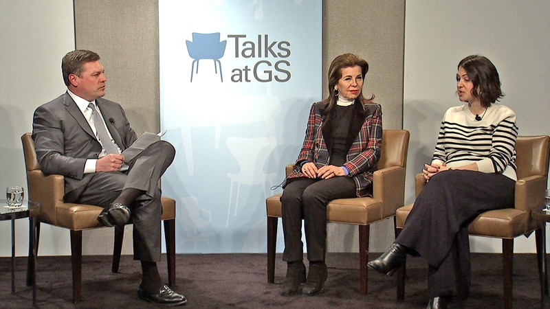 Talks at GS: Telling the Human Side of the Refugee Crisis: