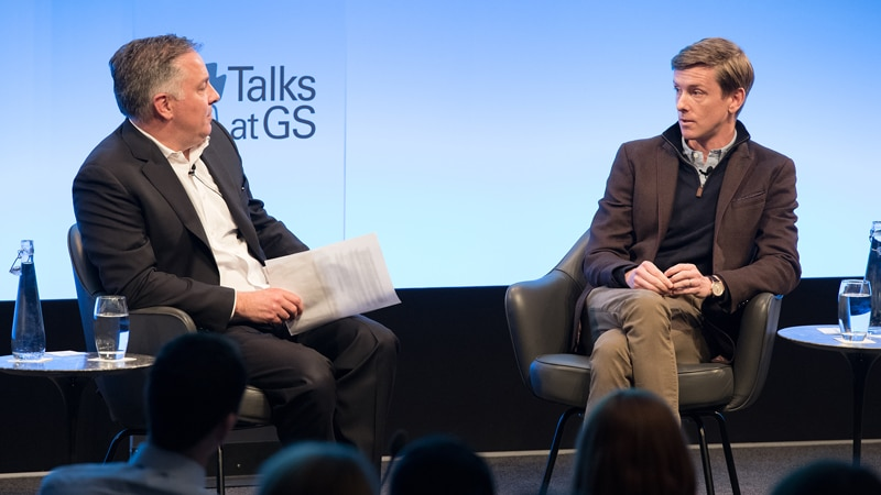 Talks at GS: Chris Hughes on Founding Facebook and Fighting Inequality