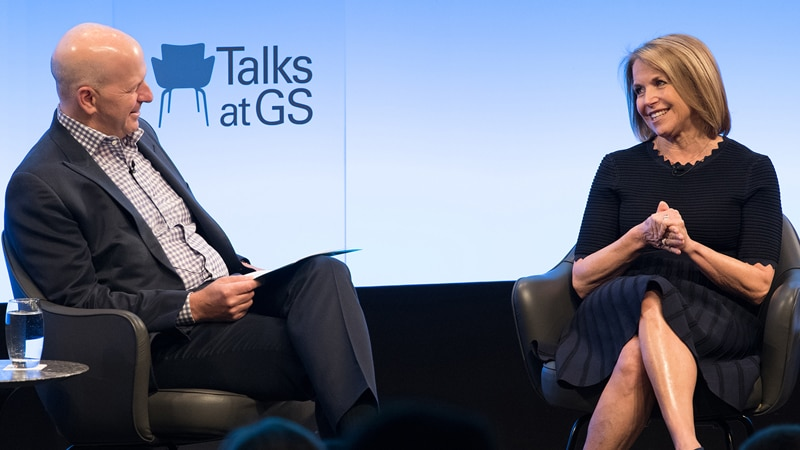 Talks at GS: Katie Couric on Telling America's Stories