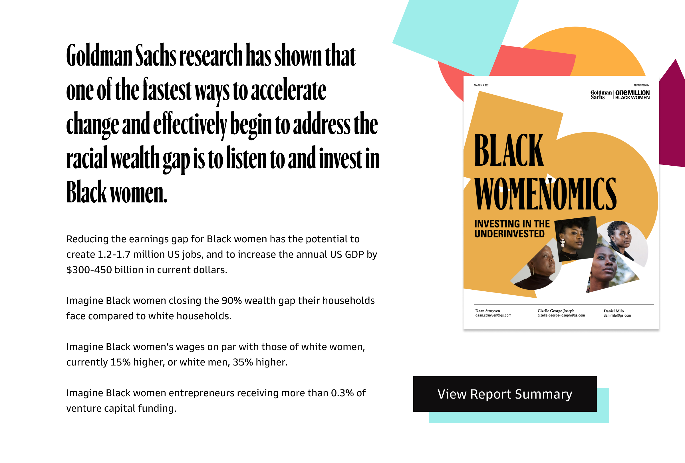 View Black Womenomics Report Summary